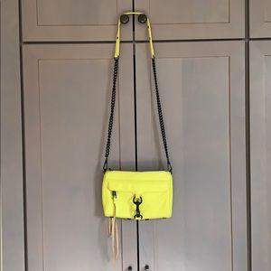 Rebecca Minkoff Hot Yellow Mini MAC Bag